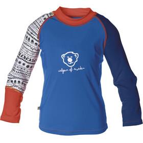 Isbjörn Sun Langærmet T-shirt Børn blå